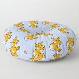 Fox; Animal Fable Floor Pillow