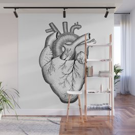 Anatomical Heart Wall Mural