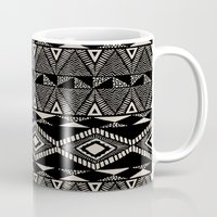navajo Mugs featuring Navajo by Stephanie Le Cocq
