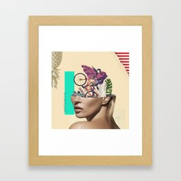 Kate Mozao no Corote Framed Art Print
