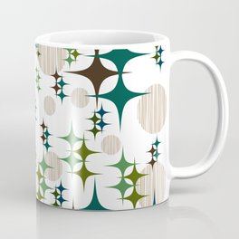 Mid Century Modern Galaxy Coffee Mug