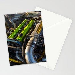 2JZ built by SSS Motorsports Stationery Cards