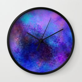 Blue Mistic Wall Clock