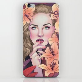 I'd be love and sweetness if I had you iPhone Skin