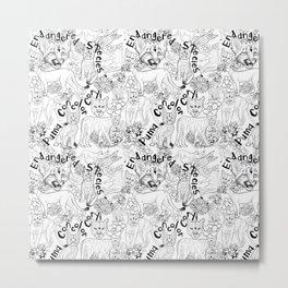 Puma Concolor Coryi- Endangered Species Metal Print