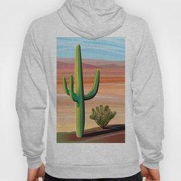Saguaro Cactus in Desert Hoody