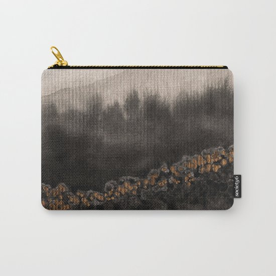Watercolor abstract landscape 24 Carry-All Pouch