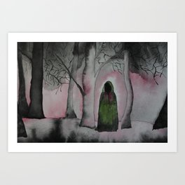 Someone Is There Art Print