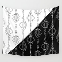 Art Deco 51 . Christmas decorations . Wall Tapestry