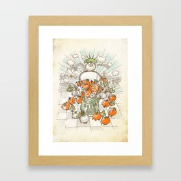 Salsacrifice! Framed Art Print