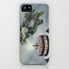 Turtle Birthday iPhone Case