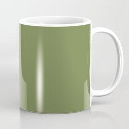 Blonde Beauty ~ Field Green Coffee Mug