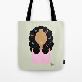 Solo // Don't Touch My Hair Tote Bag