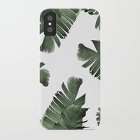 banana leaf iPhone & iPod Cases featuring Banana Leaf Frenzy #society6 by 83 Oranges®