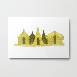 Uros Housing Metal Print
