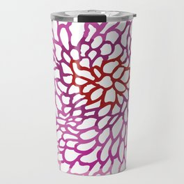 Pink abstract design Travel Mug