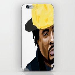 """Wale """"Folarin"""" iPhone Skin"""