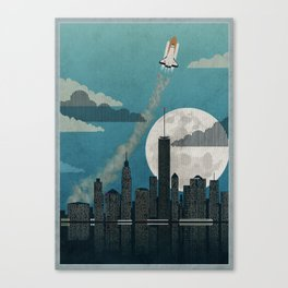 Rocket City Canvas Print