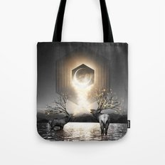Moon Dust In Your Lungs Tote Bag