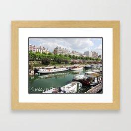 Photo: Sunday in Paris (5 May 13) Framed Art Print