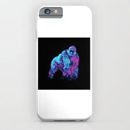 Colorful Lowland Gorilla iPhone Case