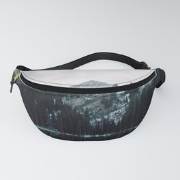 Snowy Mountain Top Fanny Pack