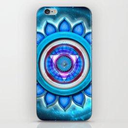 "Vishuddha Chakra - Throat Chakra - Series ""Open Chakra"" iPhone Skin"