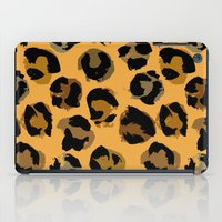 leopard iPad Cases featuring Leopard by Julia Badeeva