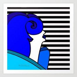 Donâldina Art Print