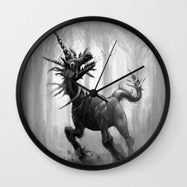 Pluricorn II Wall Clock