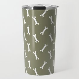 wrench pattern Travel Mug
