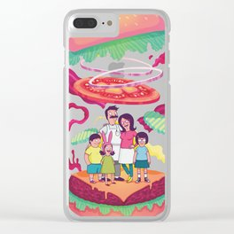 BobsBurger Clear iPhone Case