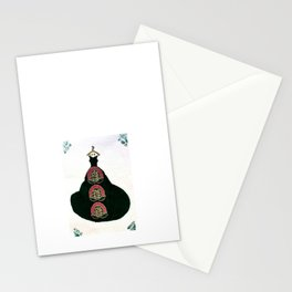 Ballgown art Stationery Cards