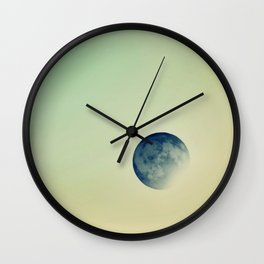 Inverted colors Wall Clock