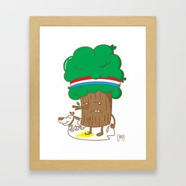 UPS !! Framed Art Print