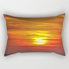 Setting Sun Rectangular Pillow