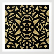 Ari's Gold Art Print