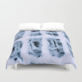 Snow Pattern Duvet Cover