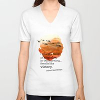 apocalypse now V-neck T-shirts featuring Apocalypse now by Nxolab