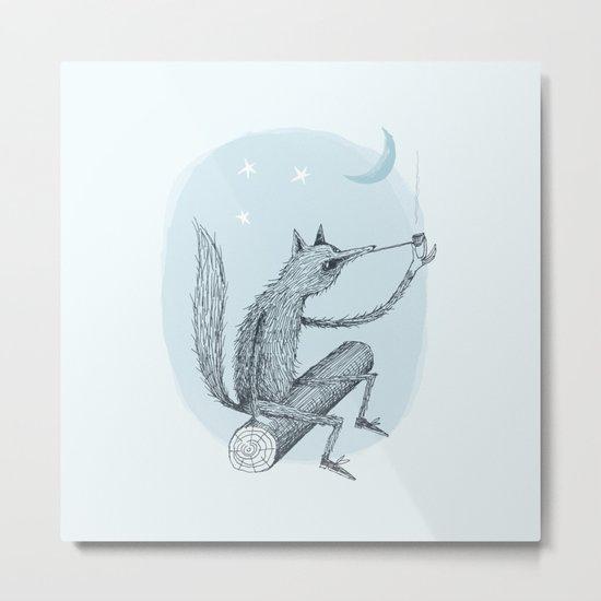 'Contemplation' Metal Print