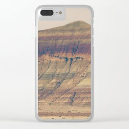 Petrified Desert Clear iPhone Case