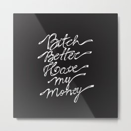 BBHMM Metal Print