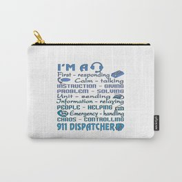 911 Dispatcher Carry-All Pouch