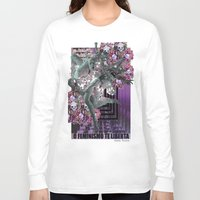 feminism Long Sleeve T-shirts featuring Feminism 2 by Alaska Ferreira