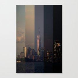 New York Harbor Canvas Print