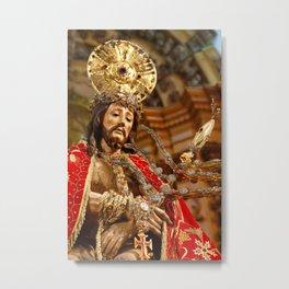 Senhor Bom Jesus da Pedra Metal Print