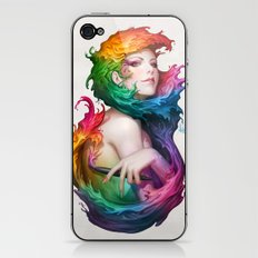 Angel of Colors iPhone & iPod Skin