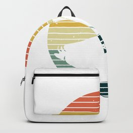 Vintage Sunset And Duck - Duck Backpack
