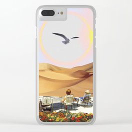 Birdwatching 2.0 Clear iPhone Case