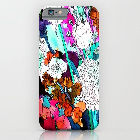 forest flowers 3 iPhone & iPod Case